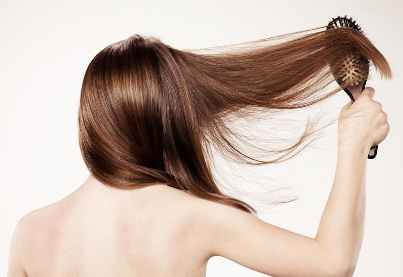 Stimulating Hair Brush for Intensive Hair Growth