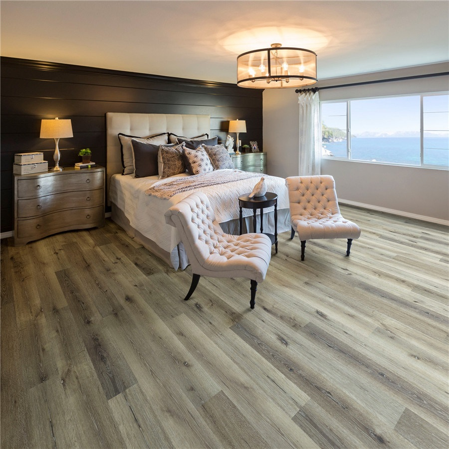What are the features of fire-proof vinyl flooring?
